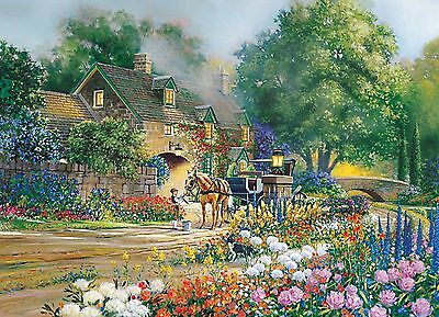 Cobble Hill Roselane House 1000-Piece New