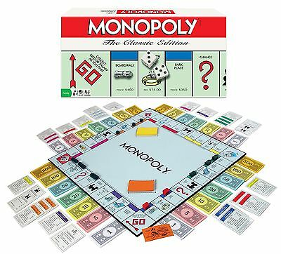 Monopoly Board Game The Classic Edition New