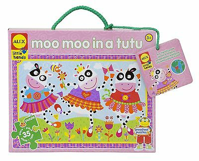 ALEX Toys - Early Learning Giant Puzzle - Moo Moo In Tutus - Little Hands... New