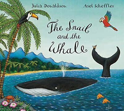 The Snail and the Whale by Donaldson, Julia Hardback Book The Cheap Fast Free