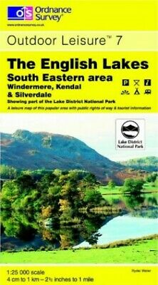 The English Lakes: South Eastern Area (O... by Ordnance Survey Sheet map, folded