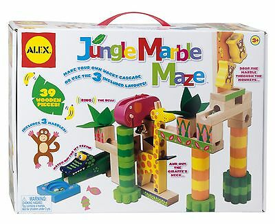 ALEX Toys - Early Learning Jungle Marble Maze - Little Hands 17N New