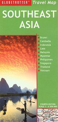 Southeast Asia (Globetrotter Travel Map) Sheet map, folded Book The Cheap Fast