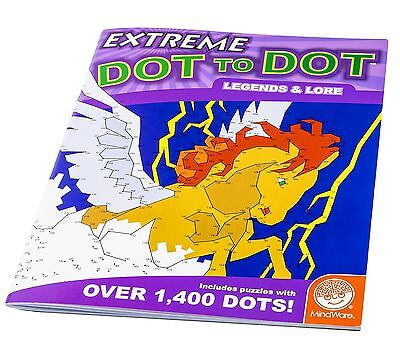 Mindware Extreme Dot to Dot: Legends and Lore (Activity Book) New