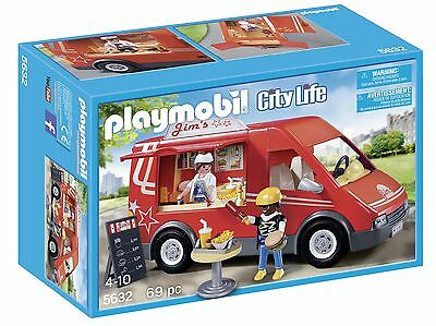 Playmobil Food Truck Playset New