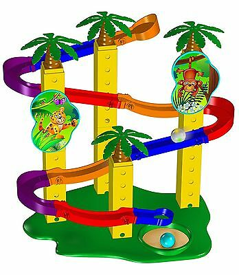 The Learning Journey Techno Kids MarbleTrax-Jungle Adventure New