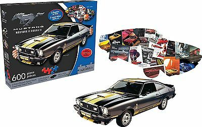 Aquarius Ford Mustang 2 Sided Jigsaw Puzzle (600-Piece) New