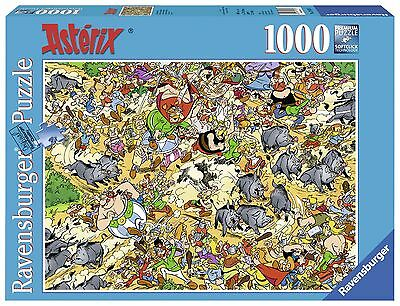 Ravensburger-Asterix-Chasse Aux Sangliers  (1000PC) Puzzles New