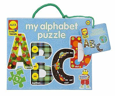 ALEX Toys - Early Learning My Alphabet Puzzle - Little Hands 1456 New