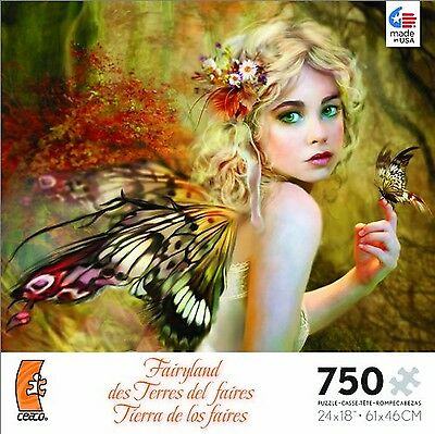 Fairyland Touch of Gold Jigsaw Puzzle New