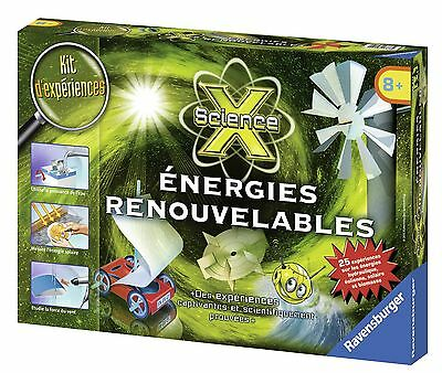 Ravensburger Science X Midi-Energies Renouvelables (Franais/French) New