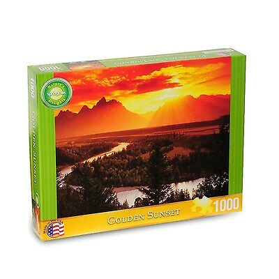 Springbok Golden Sunset Natural Delights Jigsaw Puzzle (1000-Piece) New