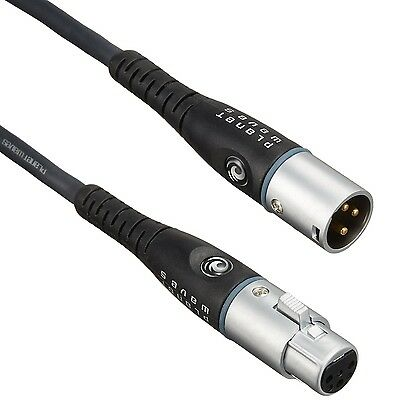 Planet Waves Custom Series XLR  Microphone Cable 25 feet New