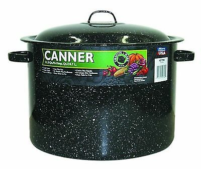 Granite Ware 706-2 11.5-Quart Covered Preserving Canner with Rack New