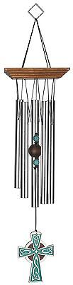 Woodstock Chimes Celtic Cross Windchime 17-Inch Long New