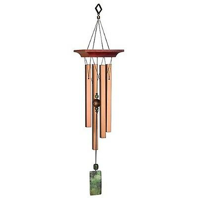 Woodstock Chimes Green Jasper Windchime 19-Inch Long New