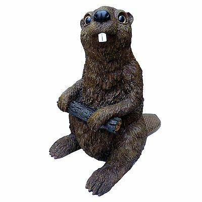 Michael Carr Designs 80040 Beaver Outdoor Statue Large New