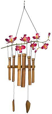 Woodstock CHERRY Asli Arts Cherry Blossom Bamboo Chime New