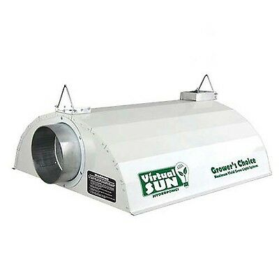 Virtual Sun VSGC6000 6-Inch Grower's Choice Reflective Grow Light Hood New