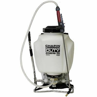 Chapin 63900 JetClean Commercial Backpack Poly Sprayer Dual Displacement ... New