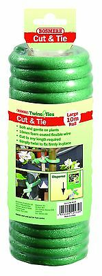 Bosmere Garden Helpers H249 Cut and Tie Soft Foam Plant Tie for Tomatoes ... New
