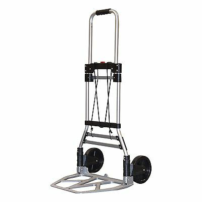 Milwaukee Hand Trucks 33882 Aluminum Fold up Hand Truck with 7-Inch Tires New