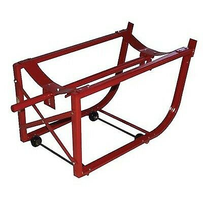Milwaukee Hand Trucks 40158 55-Gallon Drum Cradle with Wheels New