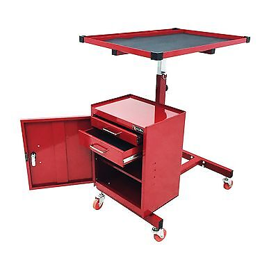 Excel International TC304C-Red 31-Inch Steel Tool Cart Red New