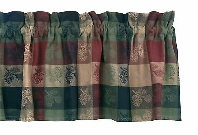 Park Designs Pinecone Valance 72 by 14-Inch 1 New