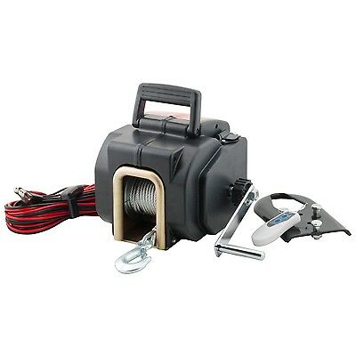 Pro-Lift I-9635 Grey Remote Control Electric Winch-3500-Pound Capacity New