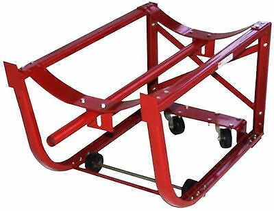 Milwaukee Hand Trucks 40159 55-Gallon Drum Cradle with 2 Wheels and 2 Cas... New
