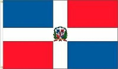 DOMINICAN REPUBLIC 3 X 5 FEET LARGE COUNTRY FLAG BANNER ... (92 CM X 152 ... New