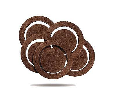 Rockwell RW9212 5-Inch 60 Grit Sanding Discs 5-Pack for RK4245K 5-Pack fo... New