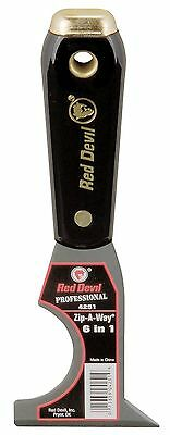 Red Devil 4251 Painter's 6-In-1-Tool New