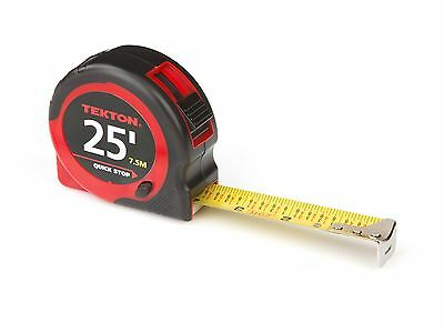 TEKTON 71953 25-Foot by 1-Inch Tape Measure Standard 25 ft. New
