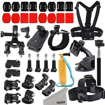 Kupton Action Camera Mount Accessories Kit for GoPro Hero5/Session Xiaomi... New