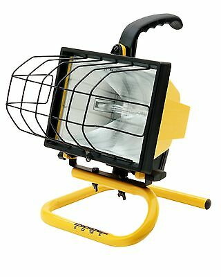 Designer's Edge L20 Portable Handheld Work Light Yellow 500-Watt New