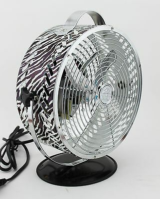 WBM HBM-7015A3 Himalayan Breeze Decor Zebra Fan New