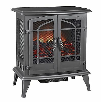 Pleasant Hearth Legacy Panoramic Electric Stove Vintage Iron LARGE New