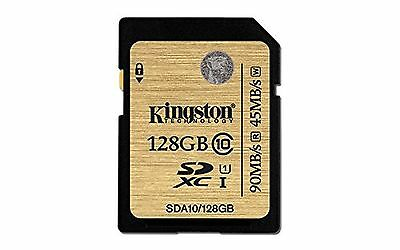 Kingston Digital 128GB SDXC Class 10 UHS-I Ultimate Flash Card (SDA10/128... New