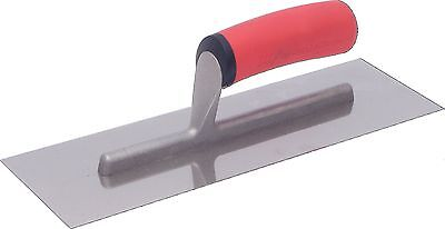 12 In. X 4 In. Stainless Steel Finishing Trowel-Marshalltown-FT124SS-HD New
