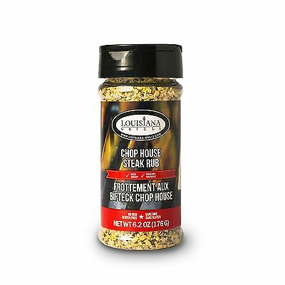 Louisiana Grills Spices and Rubs-Chop House Steak Rub New