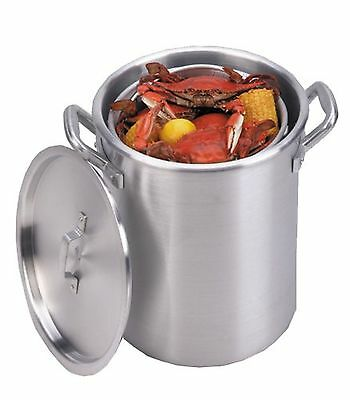 King Kooker KKA22 22-Quart Aluminum Boiling Pot with Basket New