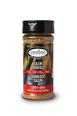 Louisiana Grills Spices and Rubs-Cajun Barbecue New
