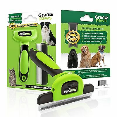 Dog Cat Grooming Pet Supplies Deshedding Tool for All Large & Small Pets.... New