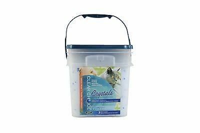 Clear Choice Silica Crystals Cat Litter Pail 12-Pound New