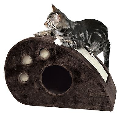 Trixie 4358 Topi Cat Condo Chocolate Brown Small (12 x 21 x 13 in.) New