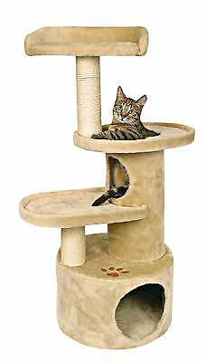 Trixie 4384 Oviedo Cat Tree Beige/Brown Paw New