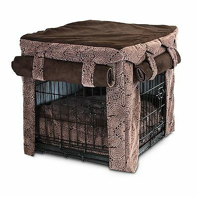 Snoozer 64940 Large Cabana Pet Crate Cover with Pillow Dog Bed Amulet New
