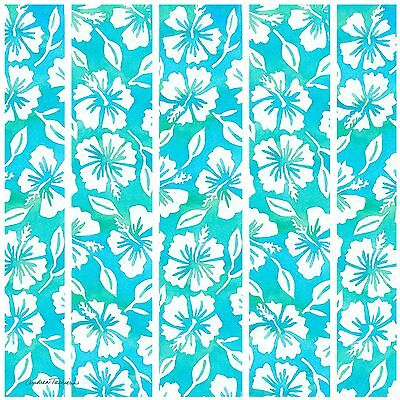 Thirstystone Occasions Trivet Hibiscus Garden Pattern Teal Multicolor New